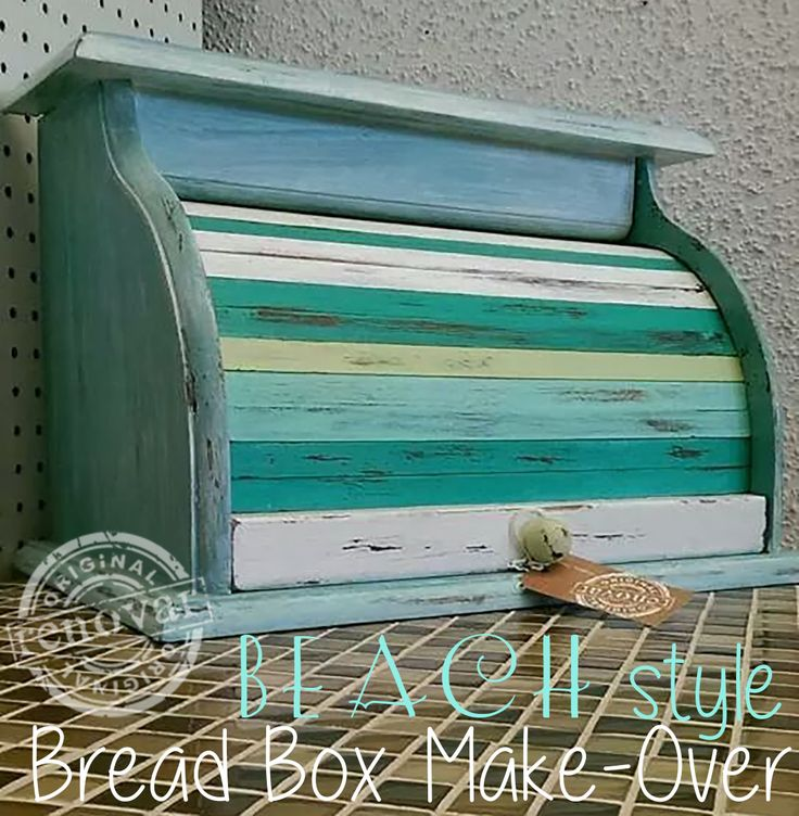 beach style bread box make over Renovar Desgin