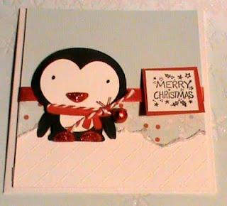 une carte de Noël Cricut, toujours