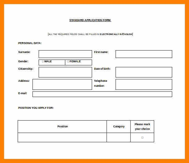 Leave Application Form For Company  Leave Application Form For Office