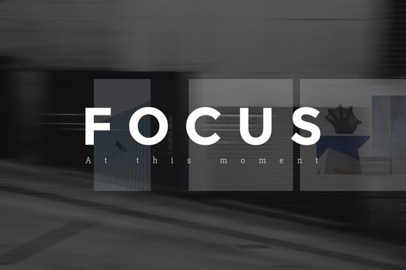 Focus Keynote Presentation + Bonus by Entersge on @creativemarket