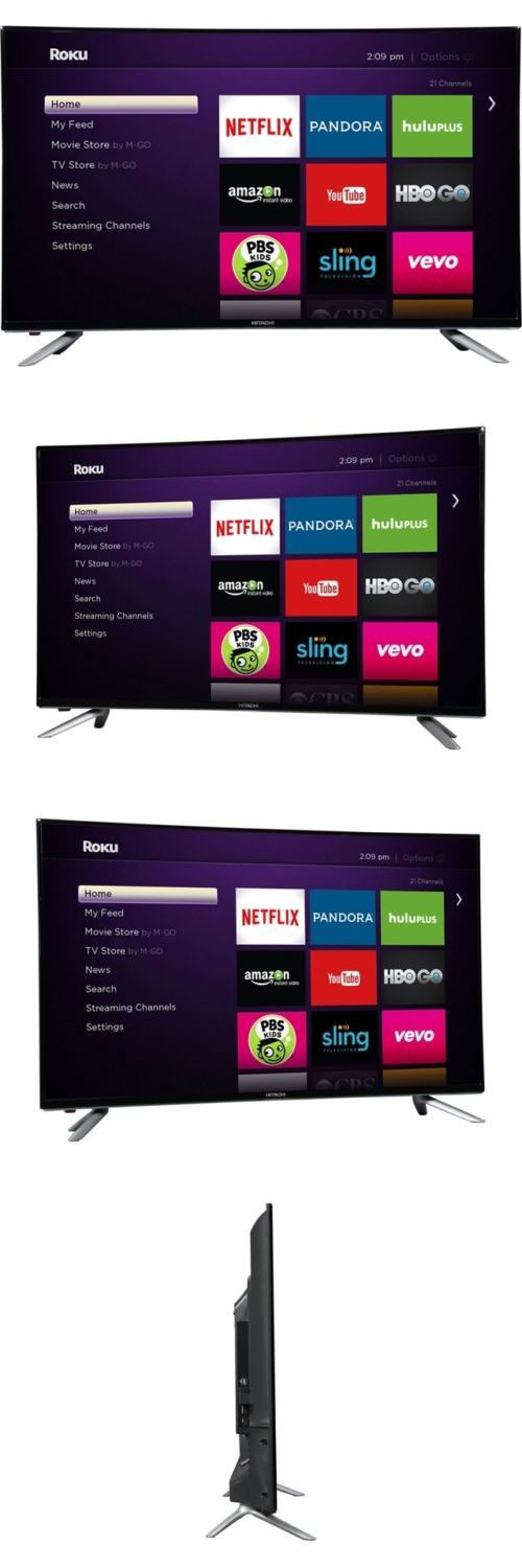 Televisions: Hitachi Le43a6r9 43 Alpha Series + Roku Ready Full Hd 1080P Led Tv BUY IT NOW ONLY: $279.0