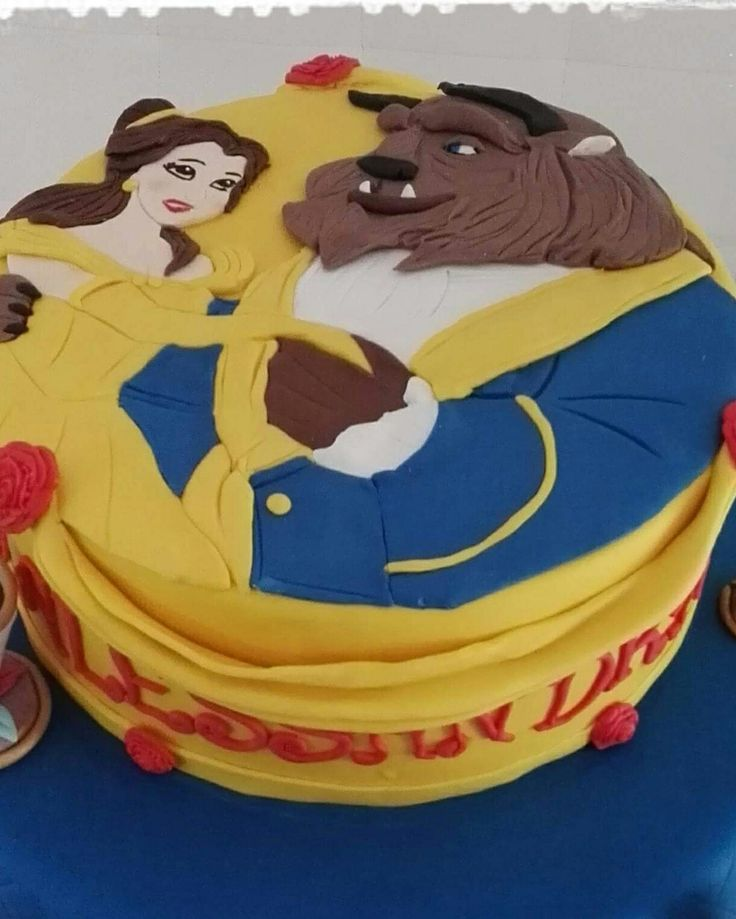 Bella e la bestia Cake by Smoothly