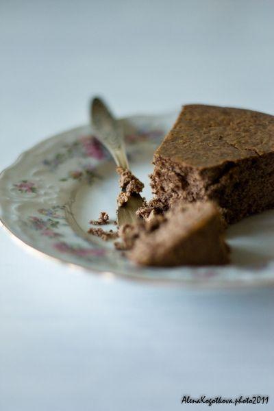 Шоколадный торт с рикоттой