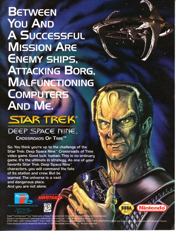‪Star Trek: Deep Space Nine – Crossroads of Time is a 1995 action-adventure video game for the Genesis and Super NES platforms, based on the television series Star Trek: Deep Space Nine. #StarTrek #StarTrekDS9 #supernintendo #RETROGAMING ‬
