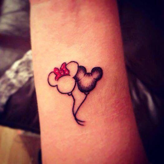 Disney tattoo balloon