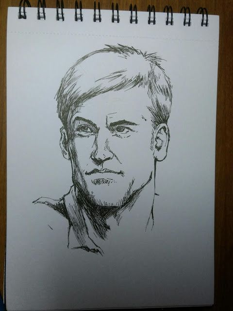 Sketch a day #9   2d inktober sketch