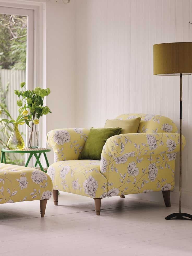 Floral Chair | Dfs | Carnival Brights | Statement Chair