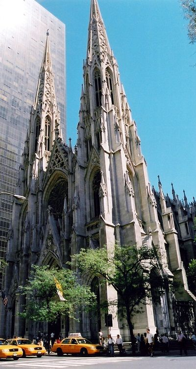 St. Patrick's Cathedral, New York...