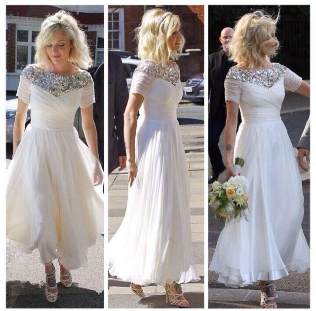 Love this dress! Fearne cotton! Wedding dress.