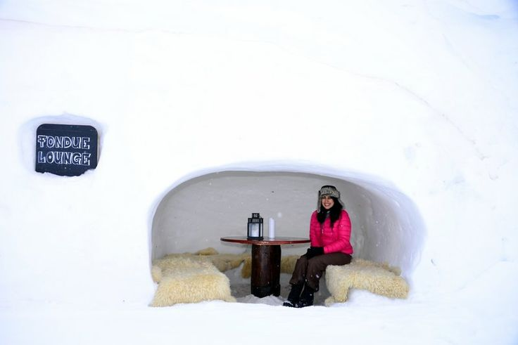 Staying in an Igloo - Put this on your bucket list NOW! - http://www.bruisedpassports.com/wheres/iglu-dorf-review