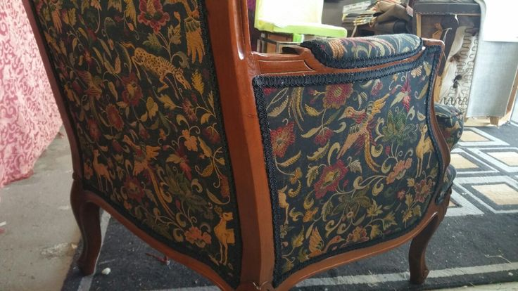 Reclaimed Restored Restyled by Long Lost Loved Upholstery &Designs.