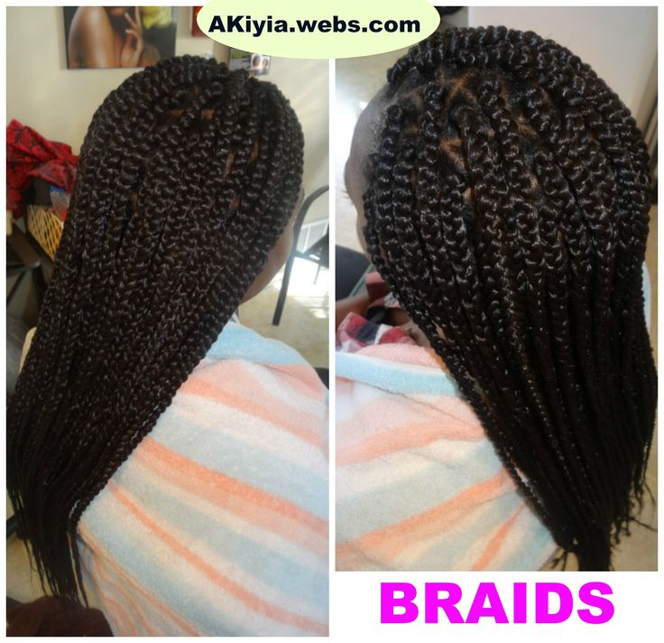 long braids weave styles crochet forward thick long braids akiyia webs ...