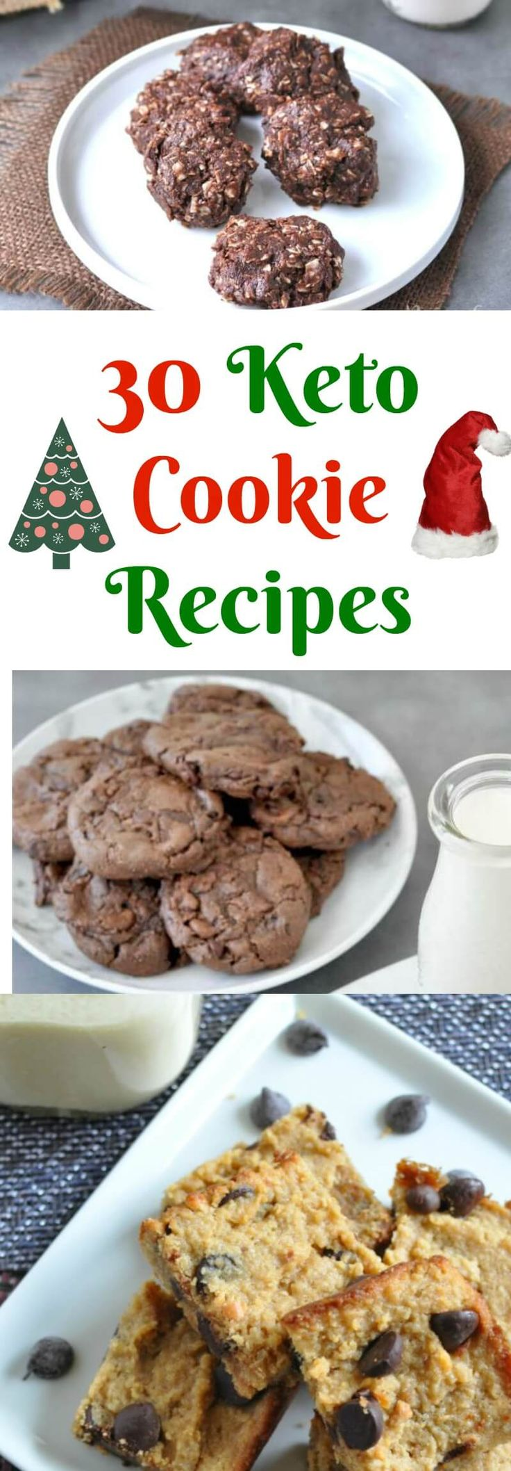 30 Keto Cookie Recipes | Peace Love and Low Carb via @PeaceLoveLoCarb
