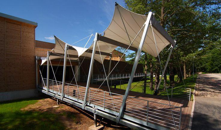 archtex | textilní a membránová architektura, konstrukce z fólií ETFE