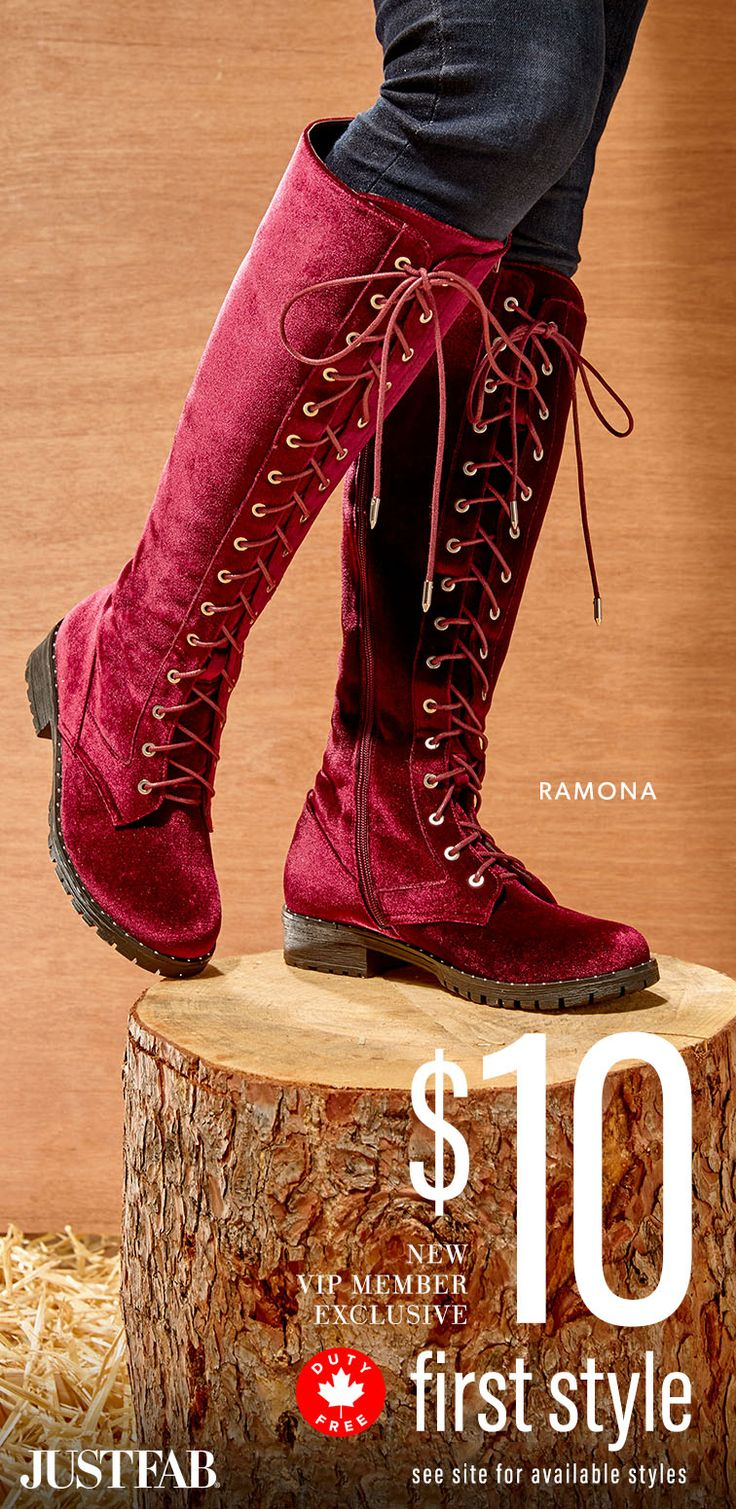 December Styles are Here! - Get Your First Pair of Boots for Only $10! Take the 60 Second Style Quiz to get this exclusive offer!