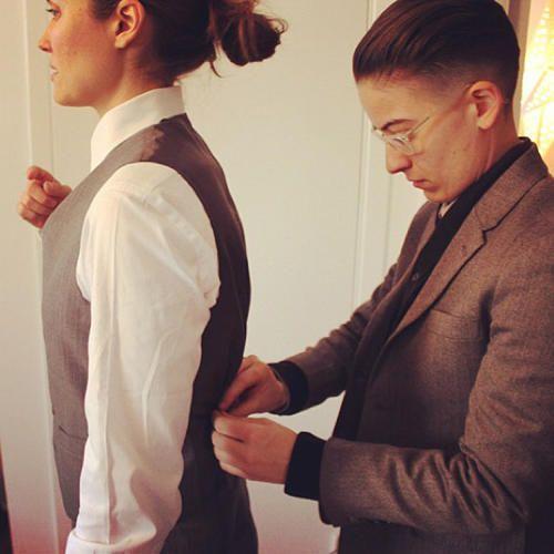 A Suit Designed To Make Transgender Men And Butch Women Feel Handsome   Co.Design   business + design