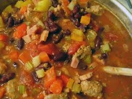 Best of bridge bean soup...great recipe!  I used white kidney beans tho...