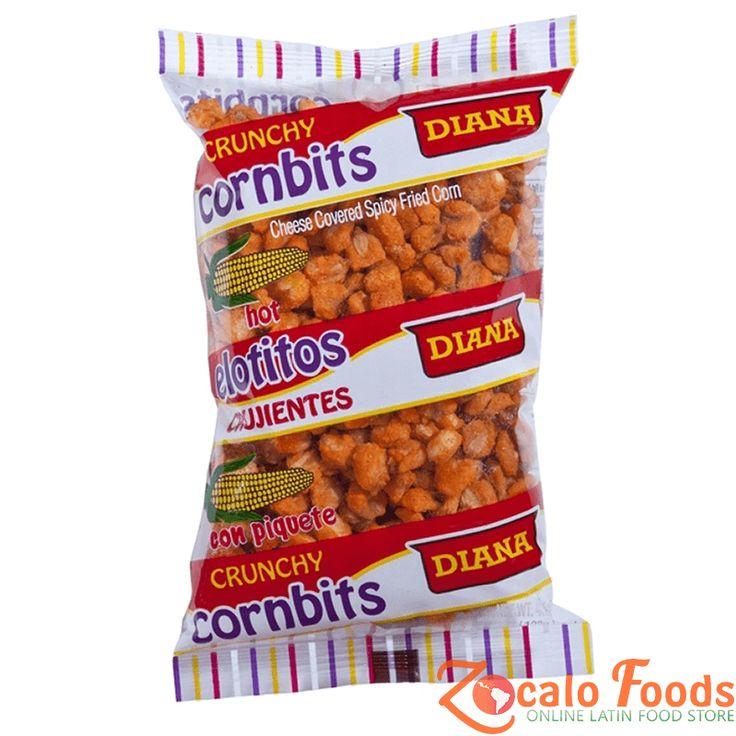 Diana Elotitos con Piquete (Crunchy Spicy Cornbits) 4.3 oz
