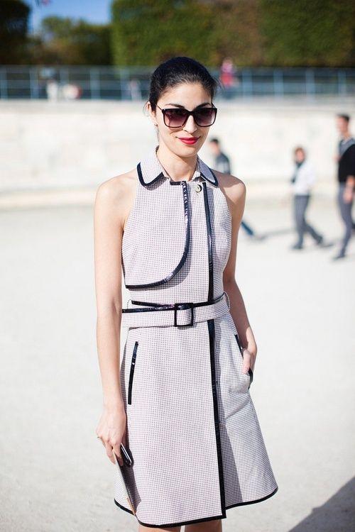 Caroline Issa   street style