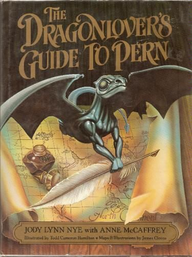The Dragonlover's Guide to Pern: Jody Lynn Nye, Anne McCaffrey: Amazon.com: Books   (NEED, WANT.)