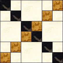 Block of Day for March 26, 2016 - Checkers-strip piecing-The pattern may be downloaded until: Tueday, April 5, 2016.