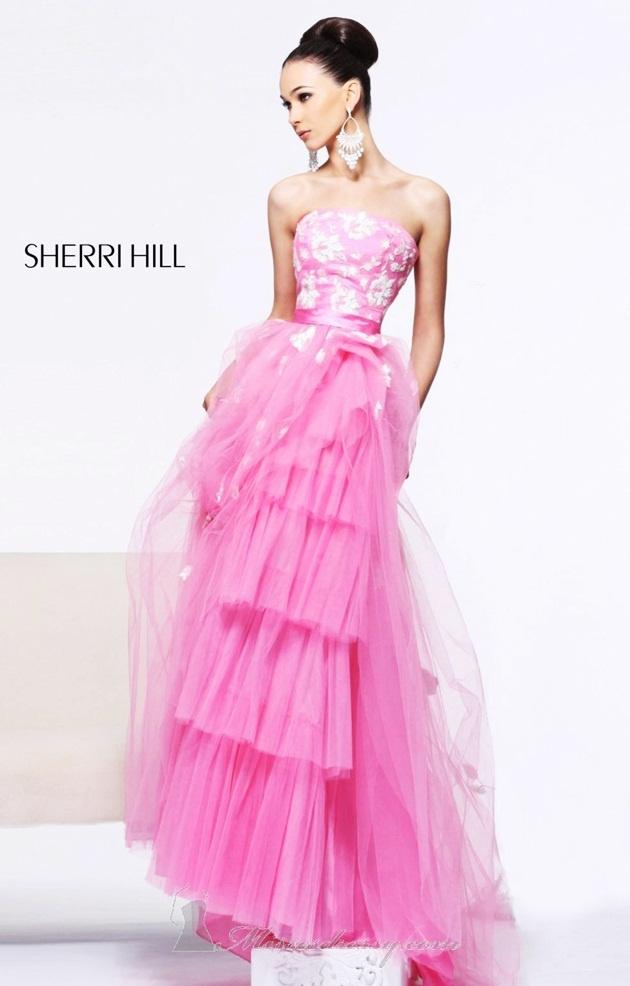 The 24 best Long Sherri Hill Prom Dresses images on Pinterest ...
