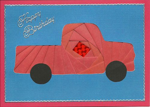 origami truck folding instructions