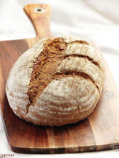 Chleb razowy pszenno-zytni Michela Suasa na zakwasie zytnim