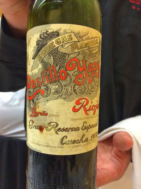 A Rioja Wine Affair: Tasting Rioja oldies was indeed a special treat | spaswinefood