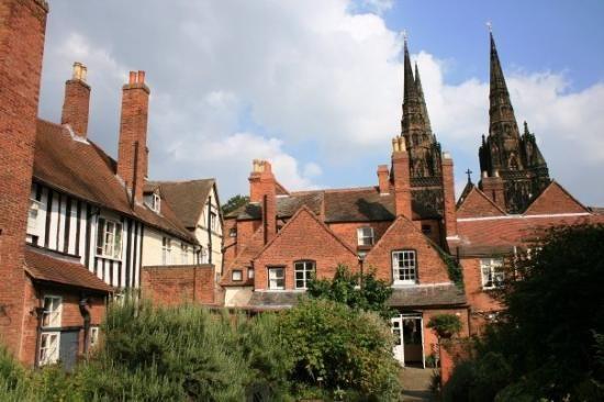 Erasmus Darwin's garden, Lichfield