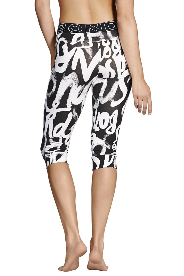 Bonds Cover Up Capri | Womens - Clothing - Active; Trackies