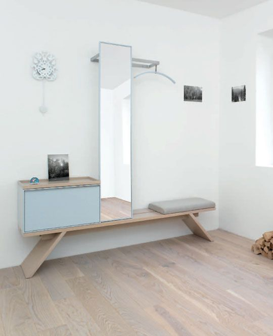 149 best images about garderobe on pinterest shops - Recibidores minimalistas ...