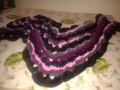 Ravelry: silviaknit63's scialle onde