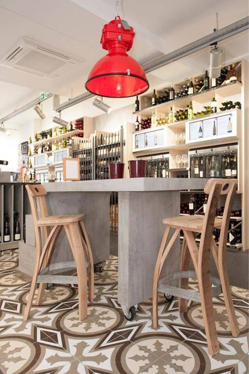 "Barrel Atelier Wijnvat barkruk ""Bordeaux"""