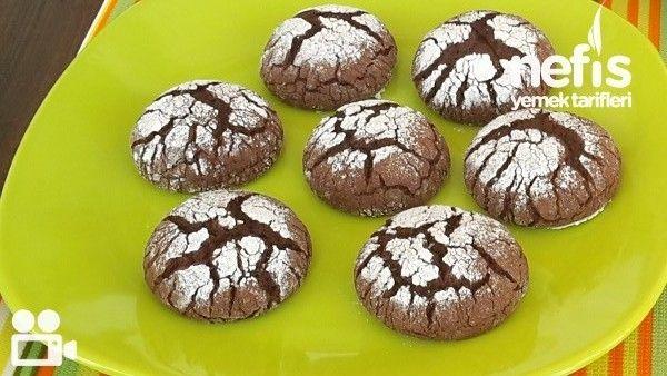 Çikolatalı Çatlak Kurabiye Nasıl Yapılır