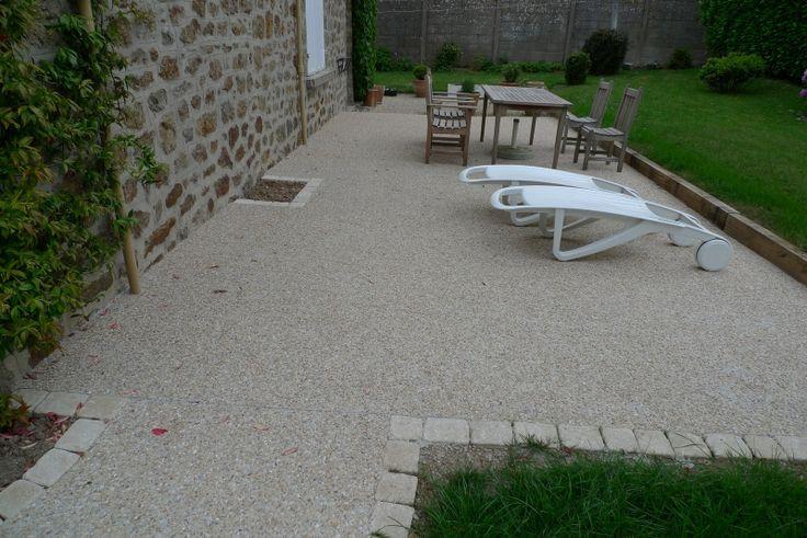 17 meilleures id es propos de terrasse gravier sur pinterest gravier de jardin all e de for Installer gravier jardin