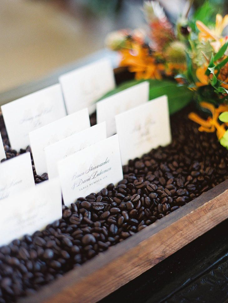 9 Wedding Details for Coffee Addicts   Photo by: Ashley Goodwin Photography   TheKnot.com