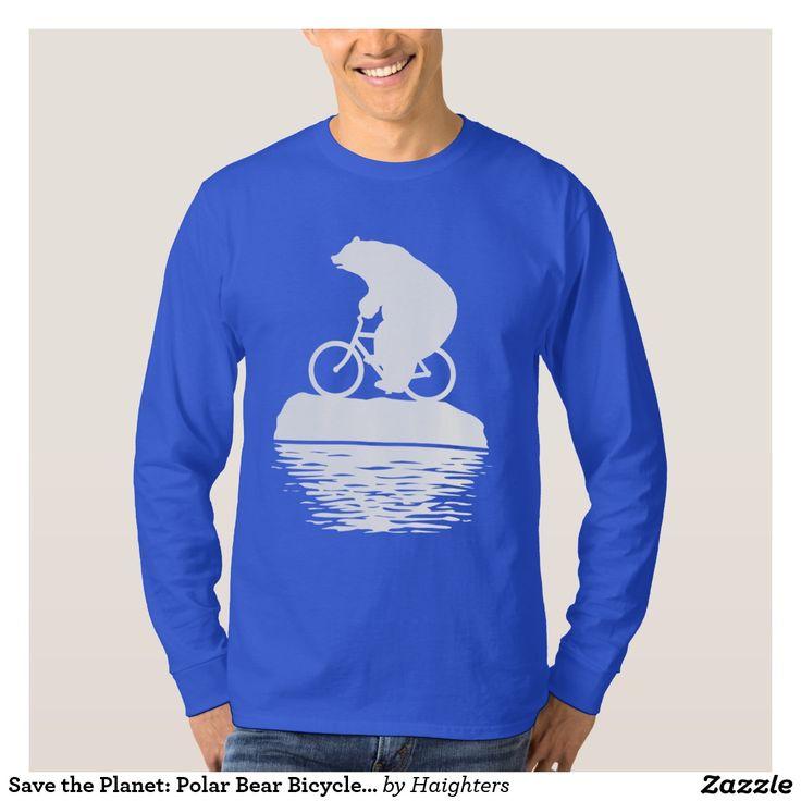 "Your Custom Men's Basic Long Sleeve T-Shirt - 30% off with code ZWINTERVACAY (""climate change"", ""global warming"", ""blue t-shirt"", tshirt, save the planet, ""carbon foot print"", bear, bicycle, bike, biker, biking, lol, funny, cute, meme, ""christmas gift"", ""chanukah gift"", ""men's t-shirt"" )"