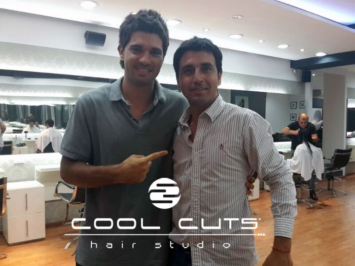 Alvaro de Cool Cuts Hair Studio y un cambio de look a Thian.