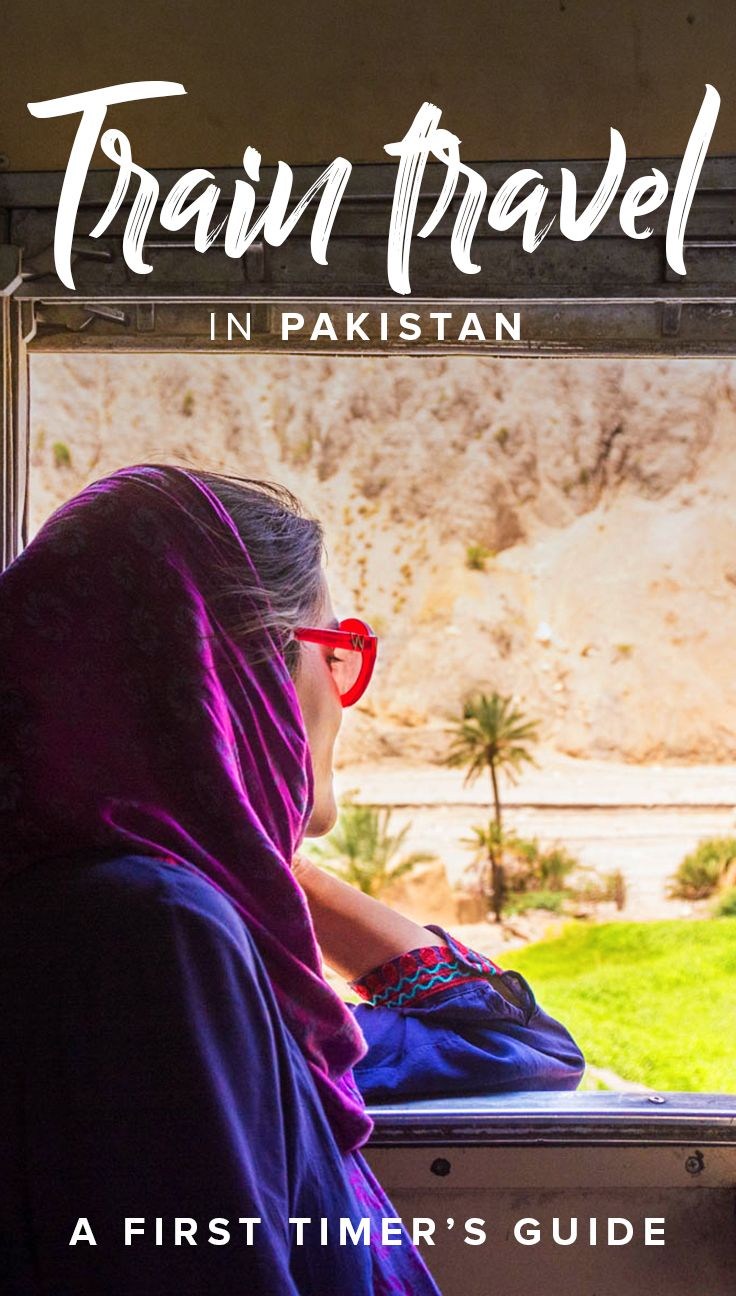 Traveling by train in Pakistan? There's all kinds of things you need to figure out, like how to buy a ticket, the different train classes, how to stay safe, and more. Click through for a first timer's guide to train travel in Pakistan, with everything you need for a safe and effortless journey!