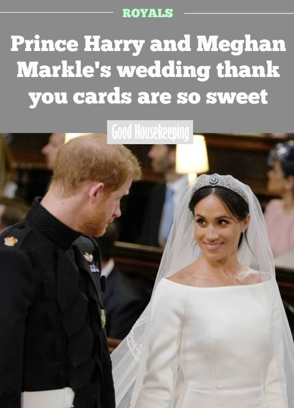 Prince Harry And Meghan Markle S Wedding Thank You Cards Are So