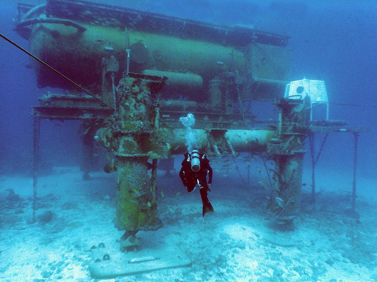 The Aquarius station is an underwater research facility