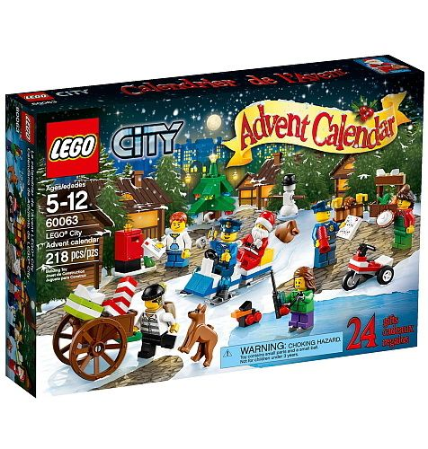 Chaque jour est une aventure de construction en faisant le décompte jusqu'à Noël avec le calendrier de l'Avent LEGO City ! Emmène le garçon poster sa lettre au père Noël, construire un bonhomme de neige, visiter le marché de Noël et patiner avec son ami. Joue avec un cadeau de Noël offert en avance : un canard construit avec des briques LEGO. Aide la police à construire un formidable traîneau pour attraper le bandit qui a volé les cadeaux. Le moment est venu de faire la fête, en échangeant…