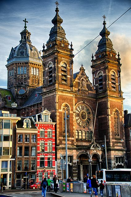 Basilica of St. Nicholas, Amsterdam, Netherlands                                                                                                                                                                                 More