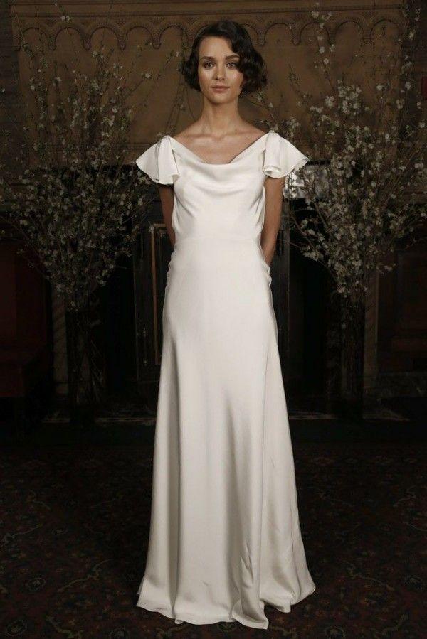 Robe de mariée 2015 avec esthétique minimaliste - Austin Scarlett