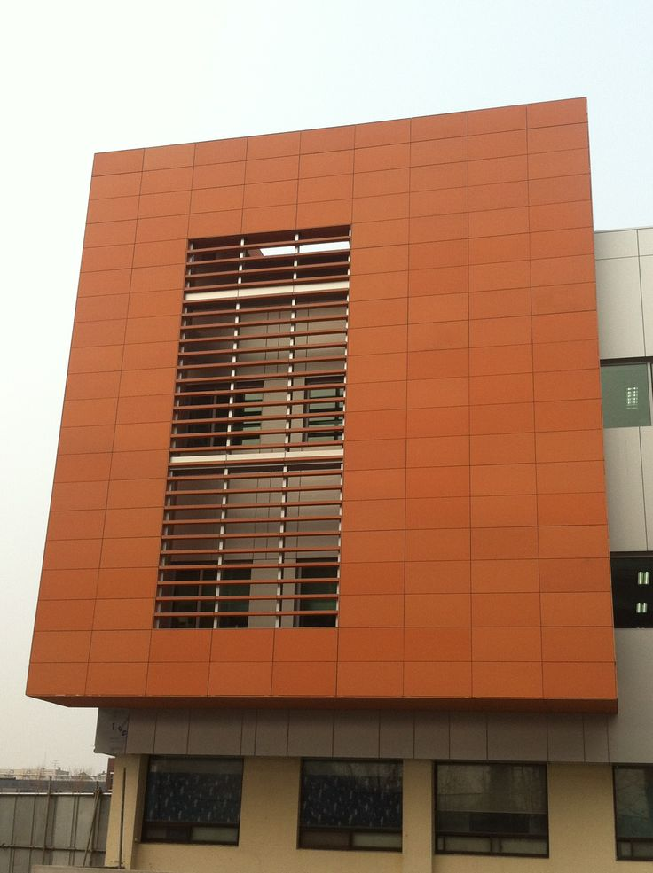 10 best terracade lightweight terracotta facade systems for Outer wall design architecture
