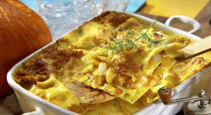 Kürbis - Lasagne mit Garnelen | Rezept-Ideen | Brunch