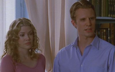 Kam Heskin and Luke Mably in The Prince & Me II: The Royal Wedding