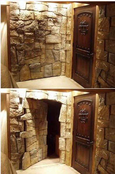 how to make a hidden wall