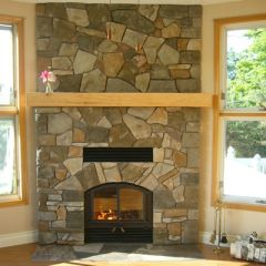 Wood Fireplace  642RSFOpel2-June08